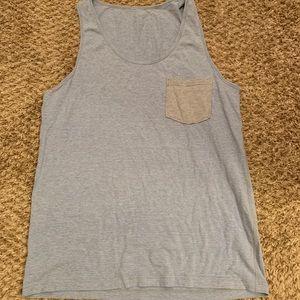 Lululemon pocket tank top shirt size large